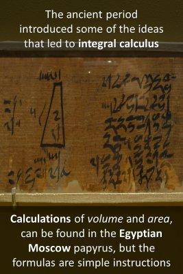 Ancient Calculus - front