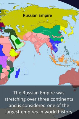 The Russian Empire - back