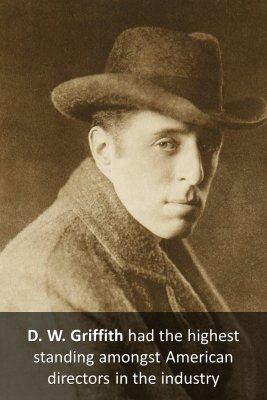 D. W. Griffith - front