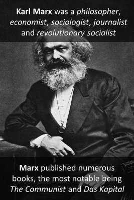 Karl Marx micro-learning cards