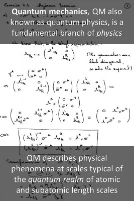 Quantum Mechanics bite sized information