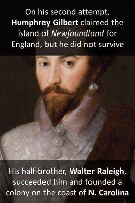 First British Empire (1583-1783) 1/2 - back
