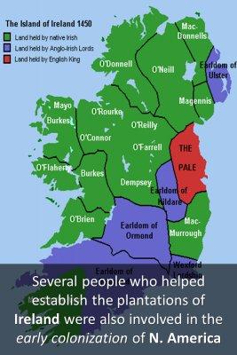 Plantations of Ireland - back