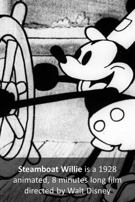 Steamboat Willie - front