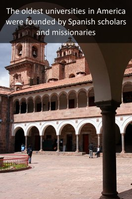 Spanish cities in America - back