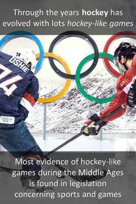 Variations of hockey bite sized information