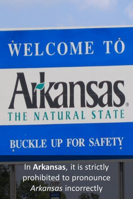 Weird Laws in Arkansas knowledge cards