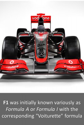 Origins of Formula 1 - back