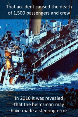 RMS Titanic - back