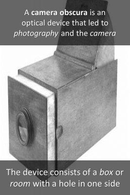 Camera obscura - back
