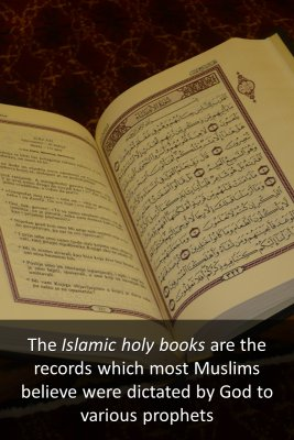 Islamic holy books - front