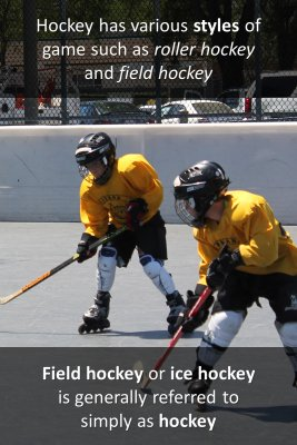 What is Hockey - back
