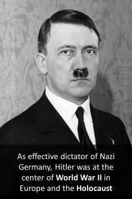 Adolf Hitler - back
