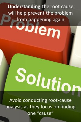 Understand The Root Cause(s) Of The Problem - back
