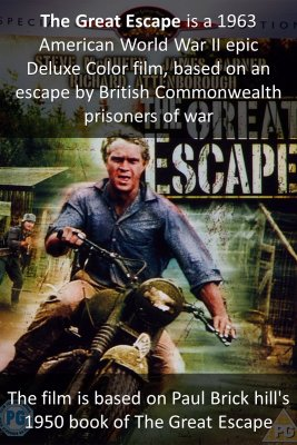 The Great Escape - front