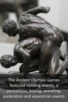The Ancient Games - front