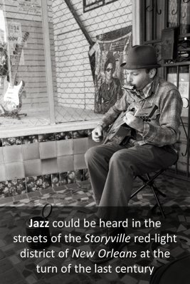 New Orleans Jazz knowledge cards