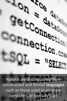 Natural language - back