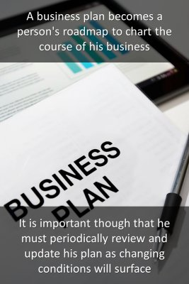 A business plan - back
