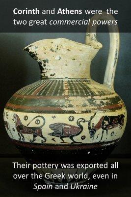 Distinctive pottery - back