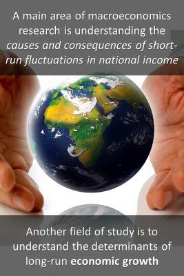 Macroeconomics field of study knowledge cards