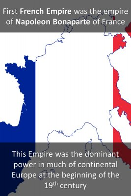 First French Empire bite sized information