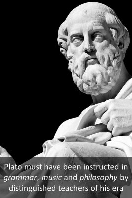 Plato's Early Life 1/3 - back