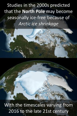 Studies on North Pole knowledge cards