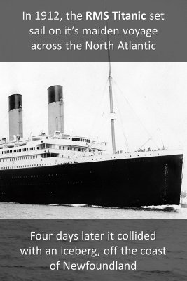 RMS Titanic - front