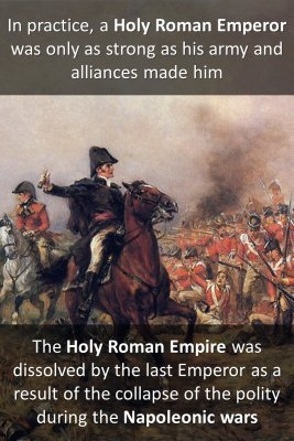 Holy Roman Emperor - back