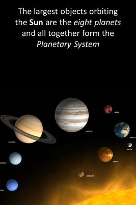 Planets bite sized information