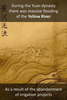 Yuan dynasty decline bite sized information