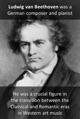 Ludwig van Beethoven micro-learning cards