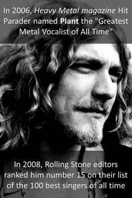 Robert Plant - back