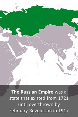 The Russian Empire micro-learning cards