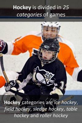 Variations of hockey - back