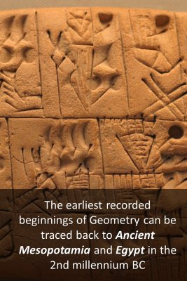 History of Geometry 1/6 bite sized information