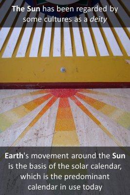 Solar Calendar - back