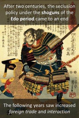 Meiji Restoration bite sized information