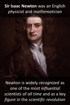 Newton micro-learning cards
