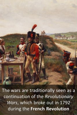 What is Napoleonic Wars - back