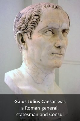 Gaius Julius Caesar micro-learning cards