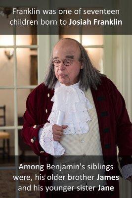 Franklin's Birth - back