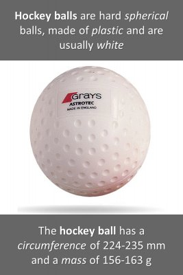 Hockey ball & puck - front
