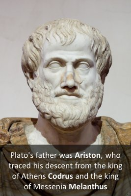 Plato's Early Life 3/3 - front