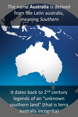 Australia - back