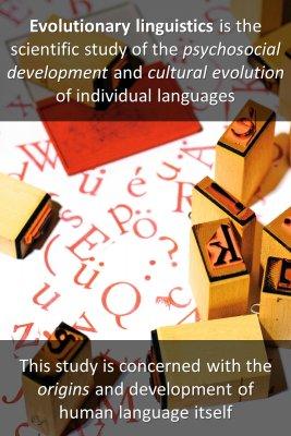 Evolutionary linguistics - front