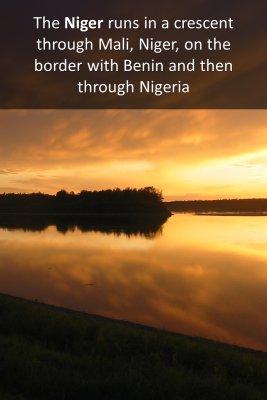 Niger river - back