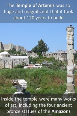 Temple of Artemis - back