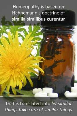 Homeopathy - back